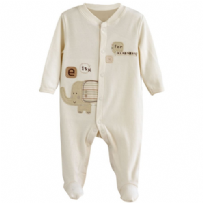Luxury Embroidered Sleepsuit